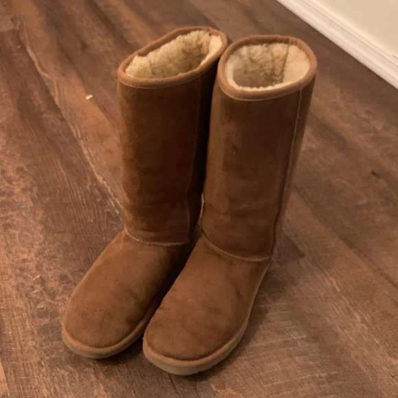 74d00110140 Classic Ugg Boots in Chestnut Size 8